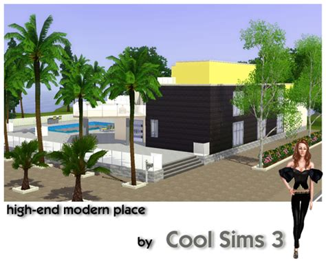 Cool Sims 3's Highend Modern Place