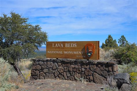 Lava Beds National Monument Cing by Road Trip De Septembre Lava Beds National Monument