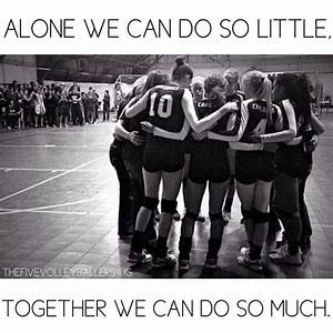 Pinterest Volleyball Teamwork Quotes. QuotesGram