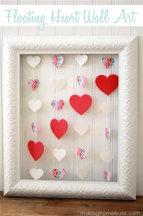 creative diy valentines day decorations shelterness