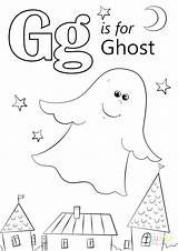 Ghost Coloring Printable Fo sketch template
