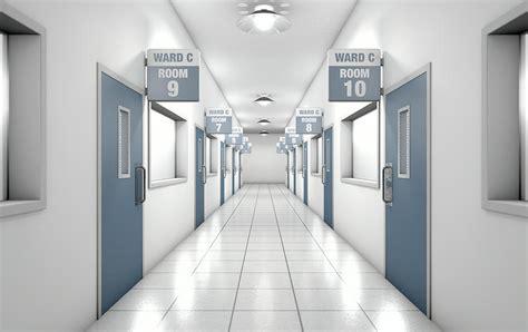 Hospital Hallway Digital Art by Allan Swart