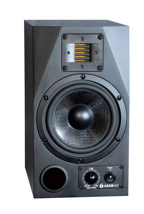 adam  monitor speakers review audioholics
