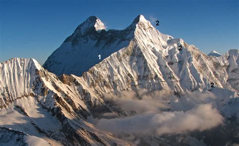 Nanda Devi East, Northeast Ridge, Attempt
