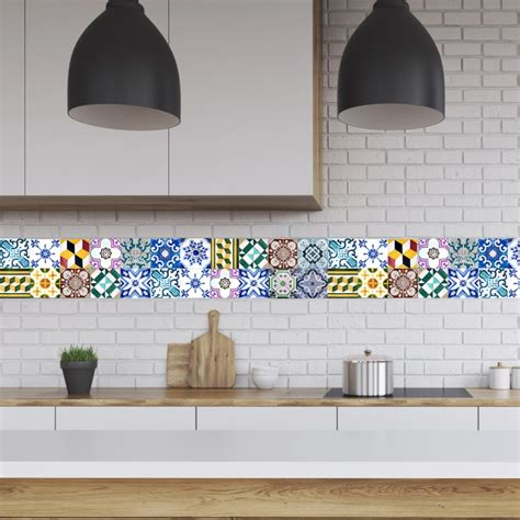 kitchen backsplash stickers tile decals for kitchen backsplash 28 images tile