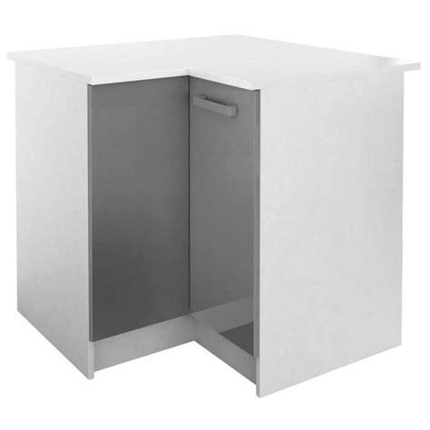 element armoire cuisine start meuble de cuisine bas d 39 angle avec plan de travail l
