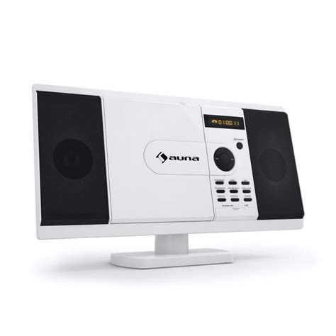 Player Wandmontage by Mcd 82 Dvd Player Stereo System Usb Sd White White
