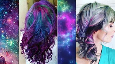 Galaxy Hair Channels The Cosmic Beauty Of The Universe