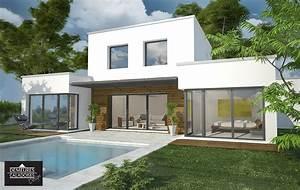Design terrasse maison home design ideen for Maison design avec piscine 7 belle maison design moderne 224 mi chemin entre la ville et