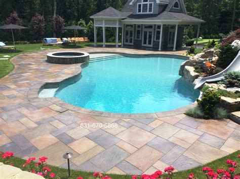 pool patio cleaning and sealing of the harbor stony