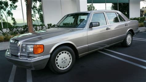 Mercedes Benz 1991 560 Sel In Excellent Condition
