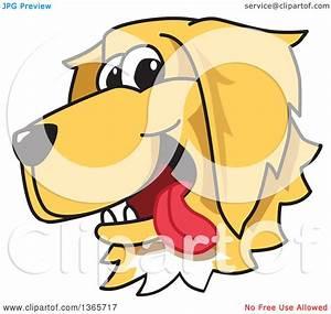 Golden Retriever Cartoon Clipart (63+)