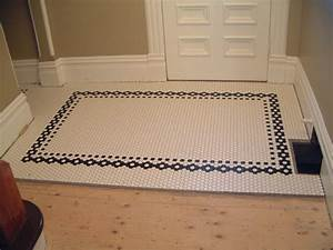 Creative tile flooring patterns for The ingenious ideas for bathroom flooring