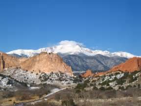 Pikes Peak Mountain Colorado Springs