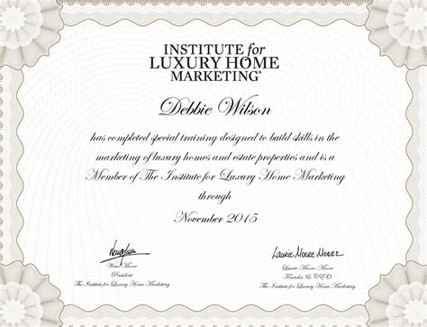 Member Of The Institute For Luxury Home