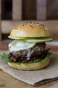 Hamburger Grillen Rezept : bacon jam burger mit apfel und ziegenk se burger grillen rezept leckere rezepte und ziegenk se ~ Watch28wear.com Haus und Dekorationen