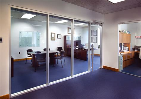 interior glass walls dorma interior glass wall systems transparency and