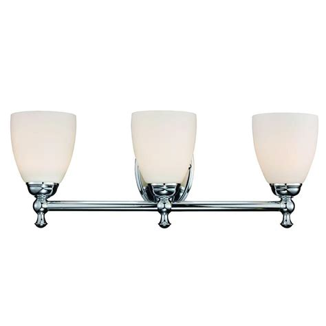 hton bay vanity light hton bay 3 light polished chrome vanity light