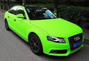 Matte Lime Green Audi Is A Little Bright