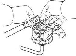 Fuel Filter Location 2000 Avalon by How To Change The Fuel Filter Toyota Nation Forum
