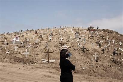 Mexico Coronavirus Strains Cemeteries Brazil Deaths Single