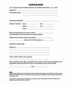 31 offer letter templates free word pdf format With sample of offer letter to buy a house