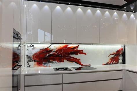 Renovating Kitchen Ideas - painted glass kitchen splashbacks