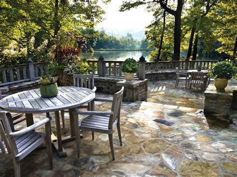 Terrasse Design Stein by Terrace With A Lake View Hgtv