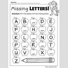 September Printables  Kindergarten Literacy And Math  Preschool Teaching Kindergarten