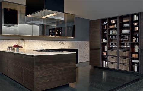 aluminium kitchen cabinet varenna wall units pr19 with bronze painted aluminium 1207