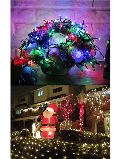 50 100 200 Led Solar Power Fairy Lights Holiday Lighting