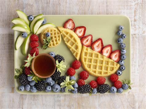 Berry Dinosaur Food Art Recipe
