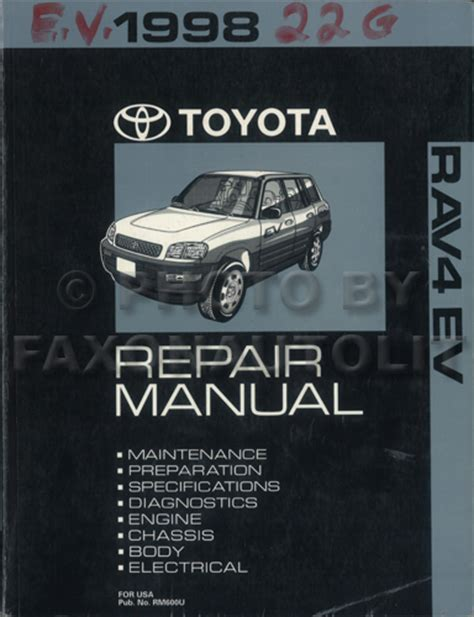 free car manuals to download 1997 toyota rav4 instrument cluster 1998 toyota rav4 repair manual free download