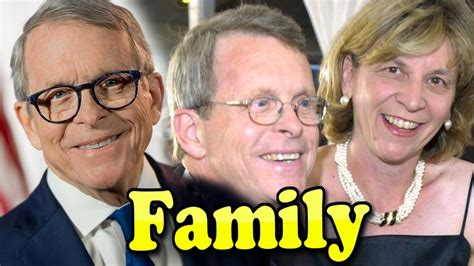 Mike Dewine Family With Daughter,Son and Wife Frances ...