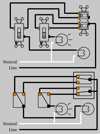 Duplex Outlet Wiring Diagram by 3 Way Duplex Switches Electrical 101