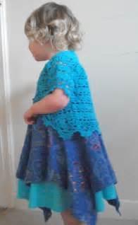 Free Crochet Girls Bolero Pattern