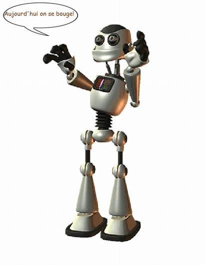 Robots Ageheureux Gifs Parler Parlent Ce Hui