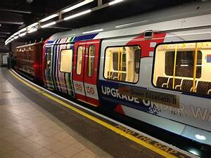 Historic 1892 London Underground Carriage At Baker Street