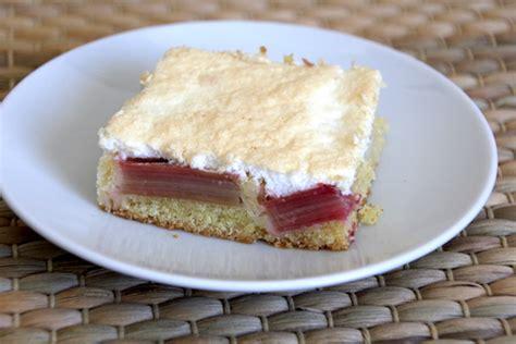 Rhabarberkuchen Mit Eischnee Baiser Rezept  Joinmygift Blog