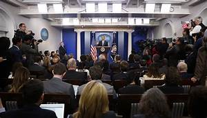 Donald Trump's team hints White House press room may be ...