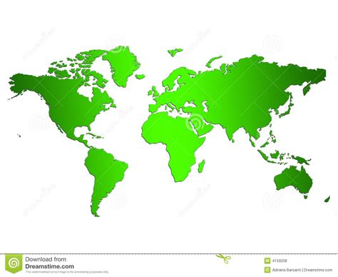 Carte Vectorielle Monde Powerpoint by Verdissez La Carte Du Monde Illustration Stock Image