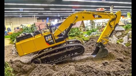 Harga Rc Excavator Cat 155 kg rc excavator in 1 8 scale r c caterpillar