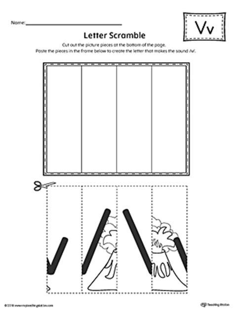 letter  scramble worksheet myteachingstationcom