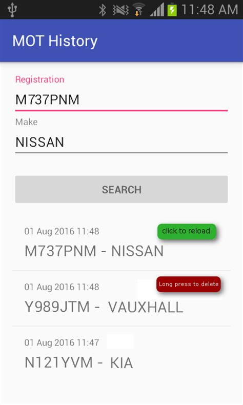 mot history android apps on play