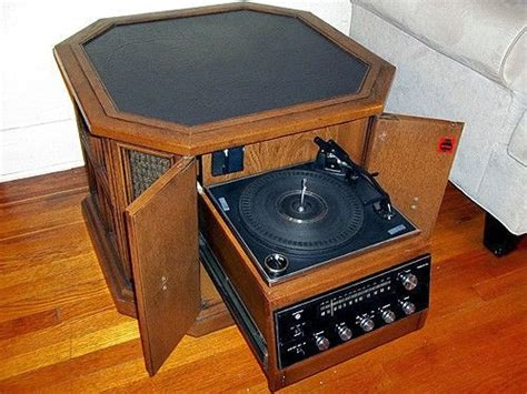 Magnavox Record Player Cabinet Needle by History S Dumpster 1970s Magnavox Drum Console Stereo