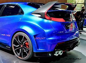 2015 Honda Civic Type R Concept Two Makes Paris Debut