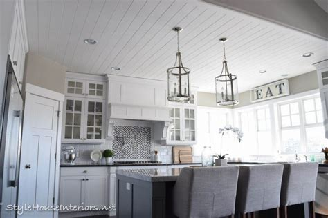 Shiplap Ceiling Kitchen by Shiplap Ceiling For The Home Shiplap Ceiling Shiplap