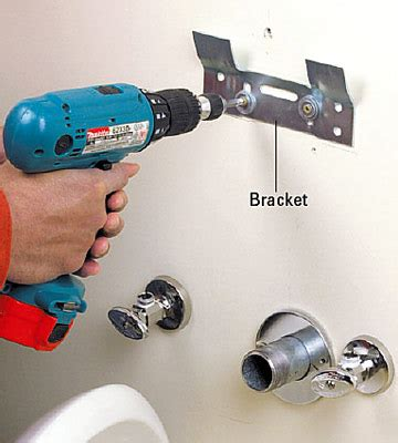 how to attach a pedestal sink to the wall how to attach sink to wall befon for