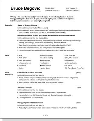 Best Font For Plain Text Resume by Improving The Layout And Appearance Of Your Resume Dummies
