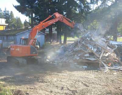 asbestos  demolition phase    development